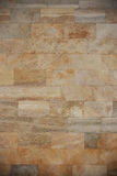 Coquina brick wall with natural pattern. Royalty Free Stock Photography