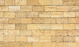 Free Coquina, Shelly House Limestone Wall Textured Background. Royalty Free Stock Photography - 121122237