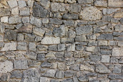 Coquina stone wall background Stock Photos