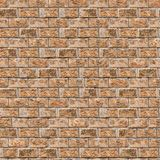Coquina Wall. Seamless Tileable Texture. Stock Photo