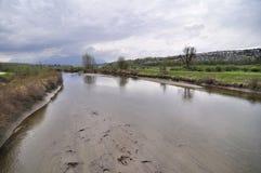 coquitlam河 库存图片