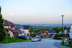 Coquitlam, British Columbia, Canada cityscape, Royalty Free Stock Photography