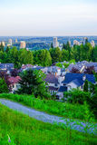 Coquitlam, Brits Colombia, cityscape van Canada, Stock Afbeelding