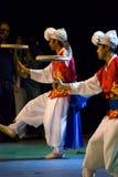 Coréen de danseurs du sud Photographie stock libre de droits