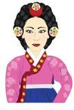 Coréenne de reine image libre de droits