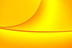 A cor alaranjada amarela tonifica formas macro do fundo Fotografia de Stock