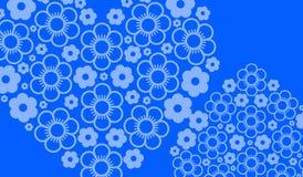 Cor azul do fundo belamente ilustração do vetor