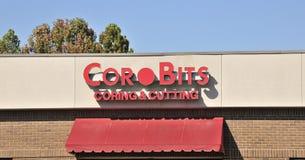 Cor Bits Coring y Cutting Company imagen de archivo libre de regalías