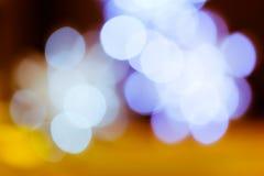 A cor borrada ilumina o fundo Imagem de Stock Royalty Free
