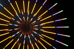 A cor borrada ilumina o fundo festivo Fotografia de Stock Royalty Free