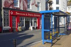 Cor Brixham Torbay Devon Endland Reino Unido da cor Imagem de Stock Royalty Free