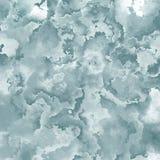 Cor cinzenta pálida manchada abstrata do fundo quadrado do teste padrão - arte de pintura moderna - efeito do splotch da aquarela ilustração stock