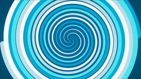 A cor circular abstrata de incandescência espiral do efeito arrasta, sumário Colorido espiral com linhas tecidas na forma de um c ilustração royalty free