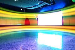A cor clara da parede Fotos de Stock Royalty Free