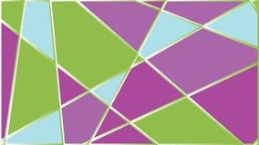 Cor completa dos fundos geométricos do sumário do triângulo ilustração royalty free