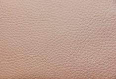 Cor cor-de-rosa leitosa do couro do falso da textura Fotografia de Stock