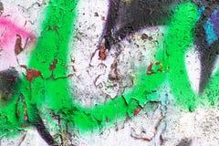 Cor criativa abstrata do fundo dos grafittis Foto de Stock