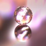 Cor da bola de cristal das luzes Imagem de Stock