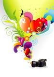 Cor da câmera Fotos de Stock Royalty Free
