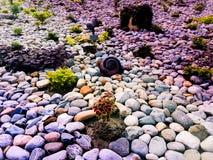 Cor da elevação das pedras fotografia de stock