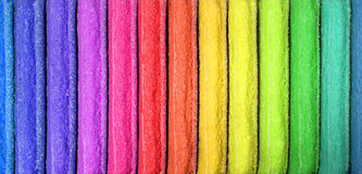 Cor da paleta do arco-íris foto de stock