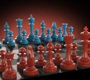 Cor da placa de xadrez Imagem de Stock Royalty Free
