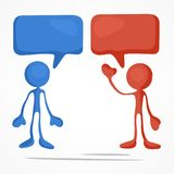 Cor da reunião de negócios Imagem de Stock
