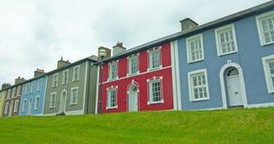 A cor das casas Imagem de Stock Royalty Free