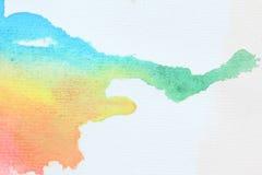 Cor de água Imagem de Stock