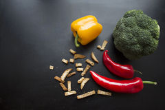 Cor de alimento Foto de Stock