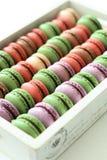 Cor de Macarons Imagens de Stock Royalty Free