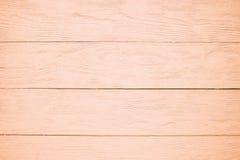 Cor de madeira da laranja do fundo da textura Fotografia de Stock Royalty Free