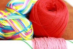 Cor de matéria têxtil Fotografia de Stock