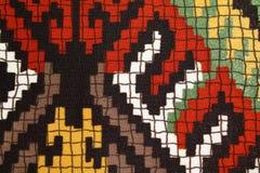 Cor de matérias têxteis Imagens de Stock Royalty Free