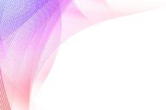 A cor-de-rosa alinha o fundo ilustração do vetor