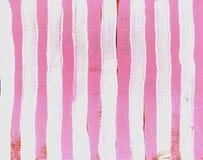 Cor-de-rosa da listra de Grunge Imagem de Stock