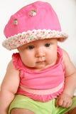 Cor-de-rosa de bebê fotografia de stock