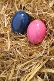 Cor-de-rosa e azul Foto de Stock Royalty Free