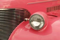 Cor-de-rosa e cromo Fotos de Stock Royalty Free