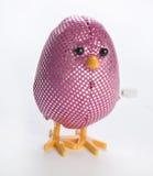 Cor-de-rosa enrole acima o brinquedo do ovo de Easter imagem de stock royalty free
