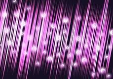 Cor-de-rosa/fundo abstrato magenta com esferas Fotos de Stock