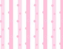 A cor-de-rosa listra o fundo Fotografia de Stock Royalty Free
