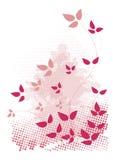 Cor-de-rosa, projeto do grunge. Imagem de Stock Royalty Free