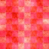 A cor-de-rosa quente textures quadrados Foto de Stock