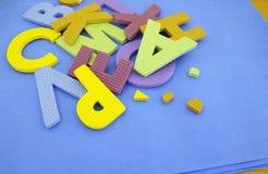 Cor diferente brilhante de uma letra do alfabeto Foto de Stock Royalty Free