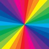 Cor do arco-íris Fotografia de Stock Royalty Free