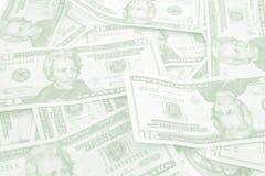 Cor do fundo e dos artigos de papelaria do dinheiro Imagem de Stock Royalty Free