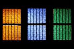 Cor do indicador de vidro Foto de Stock