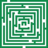 Cor do labirinto 01 Imagens de Stock