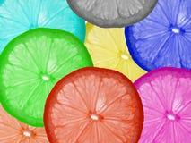 Cor do limão Fotografia de Stock Royalty Free